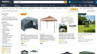 Amazon Gazebos