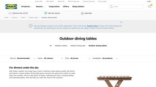 IKEA Garden Tables
