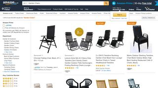 Amazon Garden Chairs