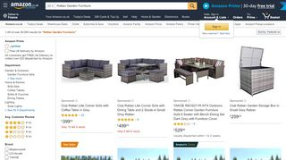 Amazon Rattan Furniture