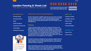 London Fencing & Sheds